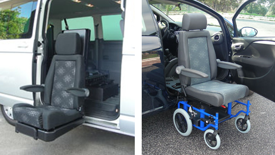 disabled seating access