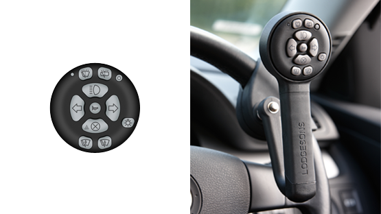 secondary wireless controls