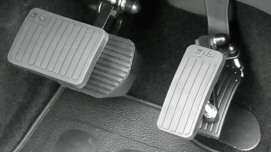 Pedal extensions flooring adjustments